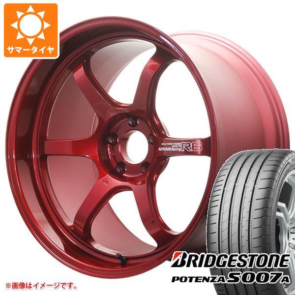 サマータイヤ 235/30R20 88Y XL ブリヂストン ポテンザ S007A アドバンレーシング R6 8.5-20 タイヤホイール4本セット