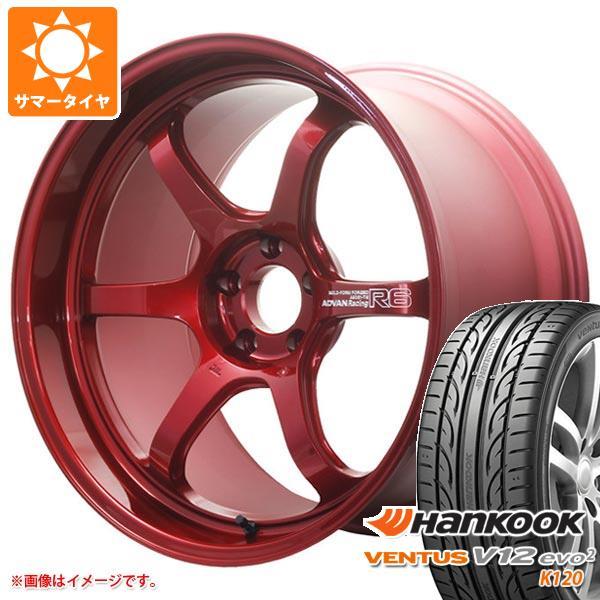 サマータイヤ 225/35R20 90Y XL ハンコック ベンタス V12evo2 K120 アドバンレーシング R6 8.5-20 タイヤホイール4本セット