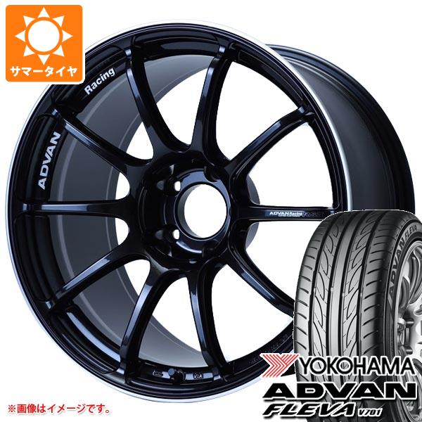 サマータイヤ 245/40R18 97W XL ヨコハマ アドバン フレバ V701 アドバンレーシング RS3 8.5-18 タイヤホイール4本セット