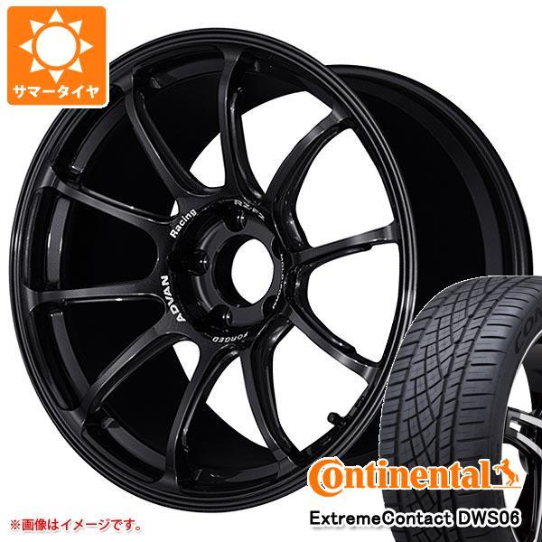 正規品 サマータイヤ 245/45R18 100Y XL コンチネンタル エクストリームコンタクト DWS06 アドバンレーシング RZ-F2 7.5-18 タイヤホイール4本セット
