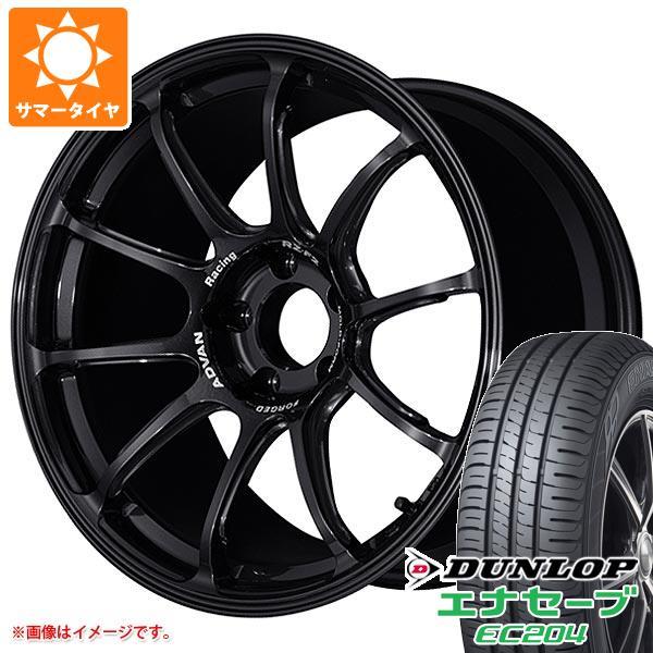 サマータイヤ 215/50R18 92V ダンロップ エナセーブ EC204 アドバンレーシング RZ-F2 7.5-18 タイヤホイール4本セット