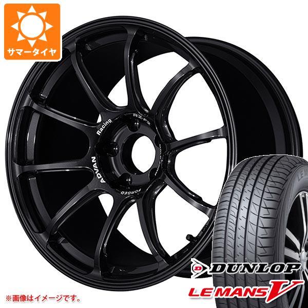 サマータイヤ 215/45R18 93W XL ダンロップ ルマン5 LM5 アドバンレーシング RZ-F2 7.5-18 タイヤホイール4本セット