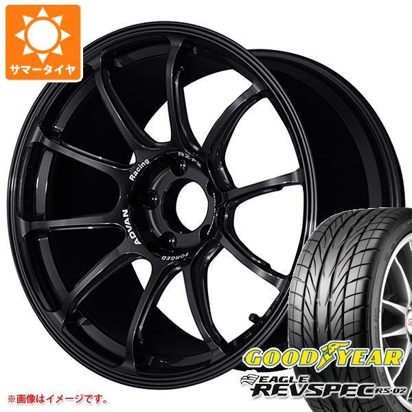 サマータイヤ 225/40R18 88W グッドイヤー イーグル レヴスペック RS-02 アドバンレーシング RZ-F2 8.0-18 タイヤホイール4本セット