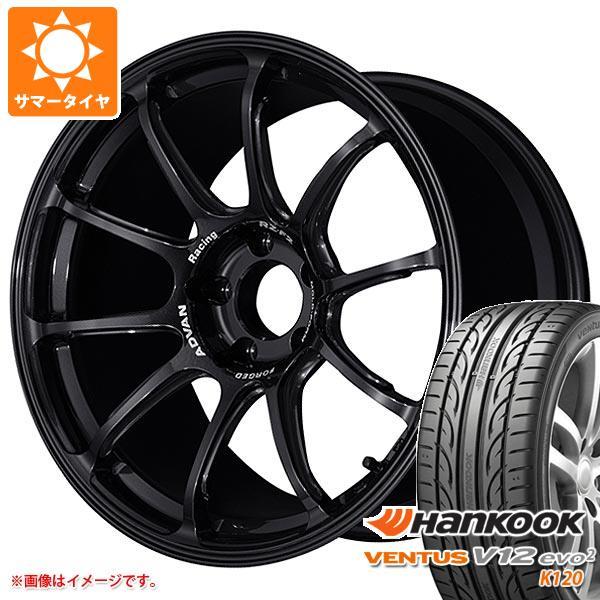 サマータイヤ 265/35R18 97Y XL ハンコック ベンタス V12evo2 K120 アドバンレーシング RZ-F2 9.0-18 タイヤホイール4本セット