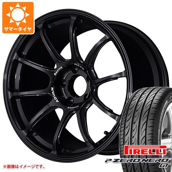 正規品 サマータイヤ 225/45R18 95Y XL ピレリ P ゼロ ネロ GT アドバンレーシング RZ-F2 8.0-18 タイヤホイール4本セット