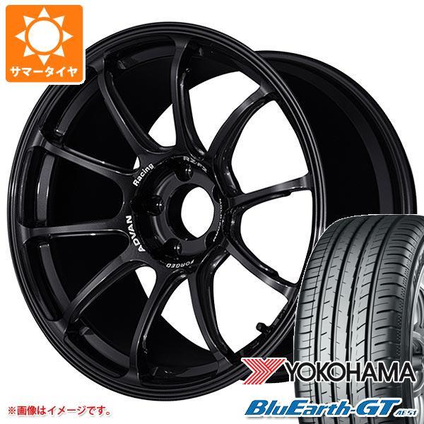 サマータイヤ 235/45R18 94W ヨコハマ ブルーアースGT AE51 アドバンレーシング RZ-F2 7.5-18 タイヤホイール4本セット