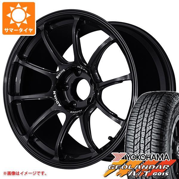 サマータイヤ 235/55R18 104H XL ヨコハマ ジオランダー A/T G015 ブラックレター アドバンレーシング RZ-F2 7.5-18 タイヤホイール4本セット