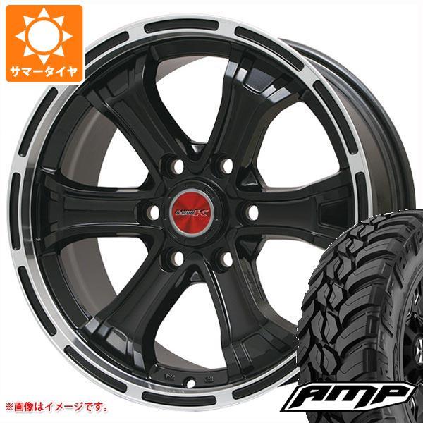 サマータイヤ 285/70R17 126Q 10PR AMP マッドテレーンアタック M/T B マッド K GB/リムP 7.5-17 タイヤホイール4本セット