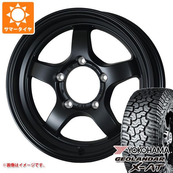 ジムニー専用 サマータイヤ ヨコハマ ジオランダー X-AT G016 195R16C 104/102Q ドゥオール CST ゼロワンハイパー S 5.5-16 タイヤホイール4本セット
