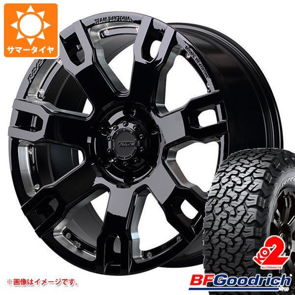100 %品質保証 サマータイヤ 285/70R17 116/113S BFグッドリッチ オールテレーン T/A KO2 ブラックレター レイズ デイトナ FDX F7S 8.0-17 タイヤホイール4本セット, カノセマチ 8497a858