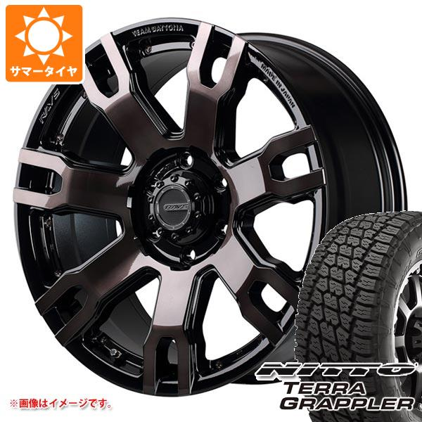 サマータイヤ 265/70R17 113S ニットー テラグラップラー レイズ デイトナ FDX F7S BRQ 8.0-17 タイヤホイール4本セット