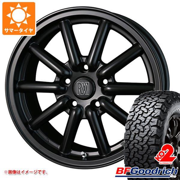 サマータイヤ 215/65R16 103/100S BFグッドリッチ オールテレーン T/A KO2 ブラックレター ドゥオール フェニーチェ RX1 7.0-16 タイヤホイール4本セット