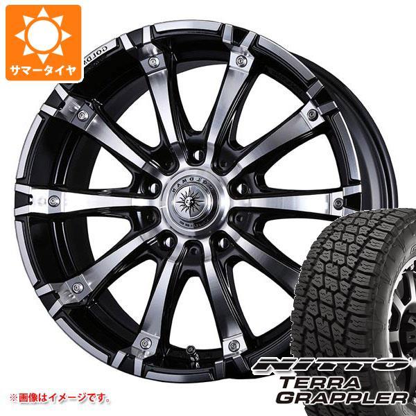 サマータイヤ 265/50R20 111S XL ニットー テラグラップラー クリムソン ギガンテス モノブロック 8.5-20 タイヤホイール4本セット