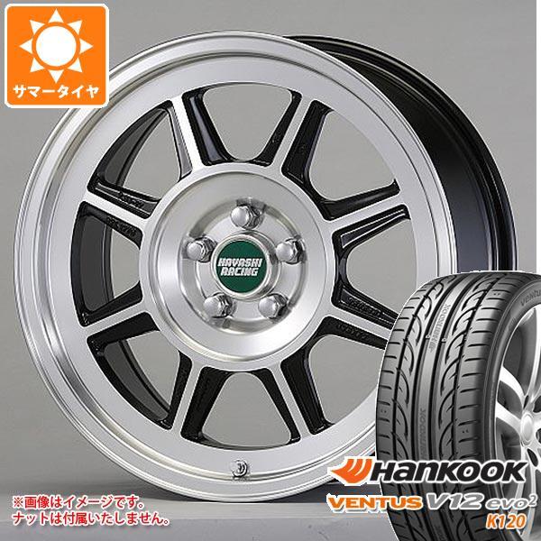 サマータイヤ 215/45R17 91Y XL ハンコック ベンタス V12evo2 K120 ハヤシレーシング ハヤシストリート STL 7.5-17 タイヤホイール4本セット