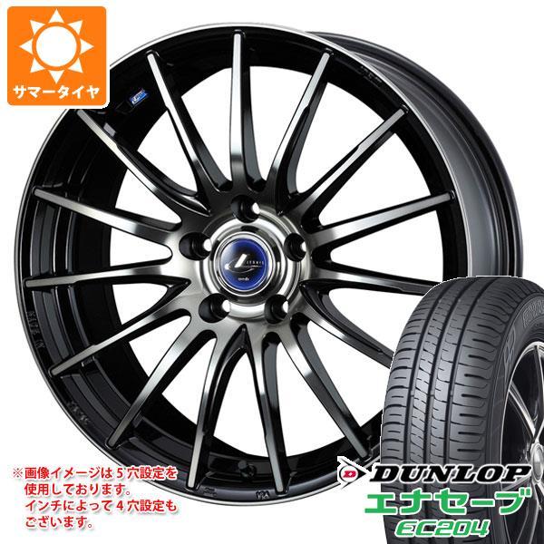サマータイヤ 215/50R18 92V ダンロップ エナセーブ EC204 レオニス ナヴィア 05 BPB 7.0-18 タイヤホイール4本セット