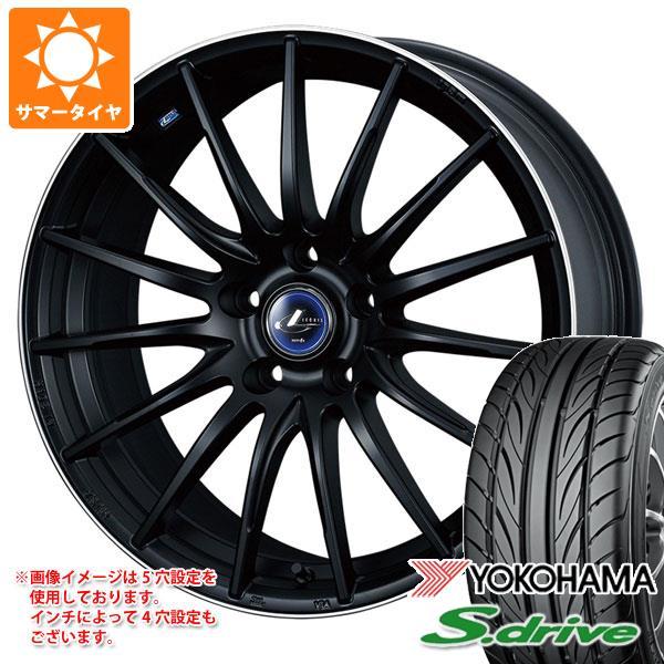 サマータイヤ 165/40R16 70V REINF ヨコハマ DNA S.ドライブ ES03 ES03N レオニス ナヴィア 05 5.0-16 タイヤホイール4本セット