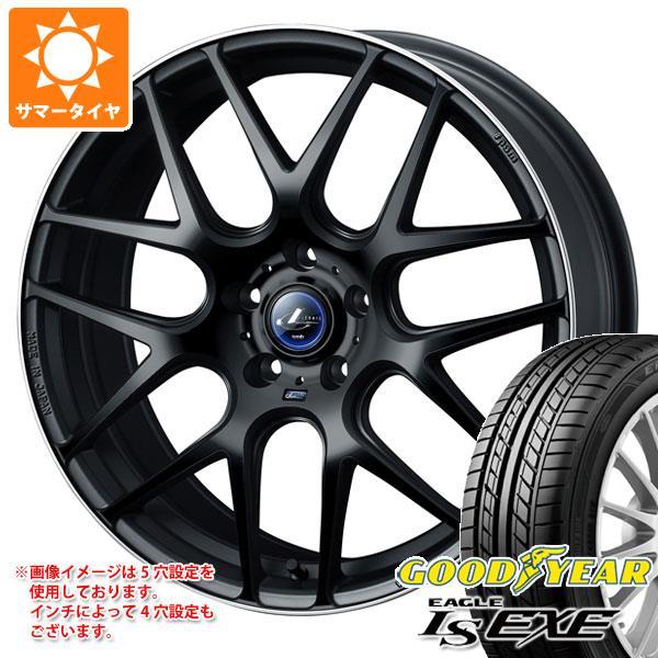 サマータイヤ 205/50R17 93V XL グッドイヤー イーグル LSエグゼ レオニス ナヴィア 06 7.0-17 タイヤホイール4本セット