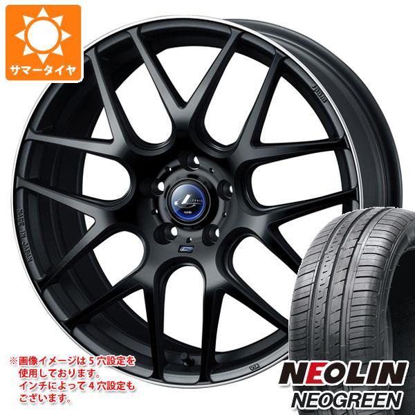 サマータイヤ 165/55R15 75H ネオリン ネオグリーン レオニス ナヴィア 06 MBP 4.5-15 タイヤホイール4本セット