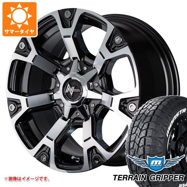 サマータイヤ 265/60R18 114T XL モンスタ テレーングリッパー ホワイトレター ナイトロパワー ウォーヘッド 8.0-18 タイヤホイール4本セット