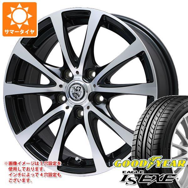 サマータイヤ 215/45R17 91W XL グッドイヤー イーグル LSエグゼ TRG-BAHN XP 7.0-17 タイヤホイール4本セット