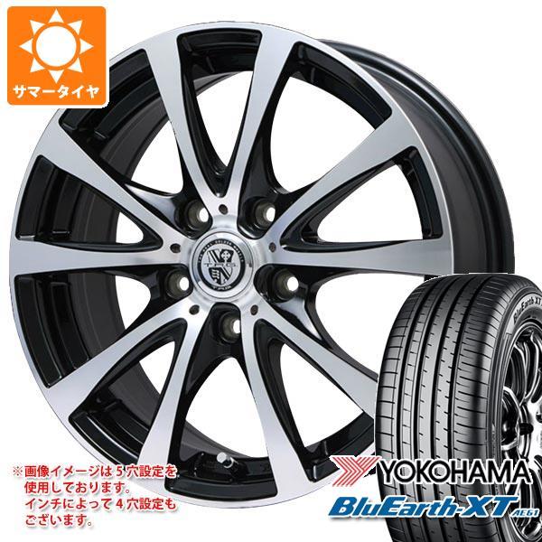 サマータイヤ 215/55R17 94V ヨコハマ ブルーアースXT AE61 TRG-BAHN XP 7.0-17 タイヤホイール4本セット
