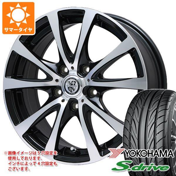 サマータイヤ 165/55R14 72V ヨコハマ DNA S.ドライブ ES03 TRG-BAHN XP 4.5-14 タイヤホイール4本セット