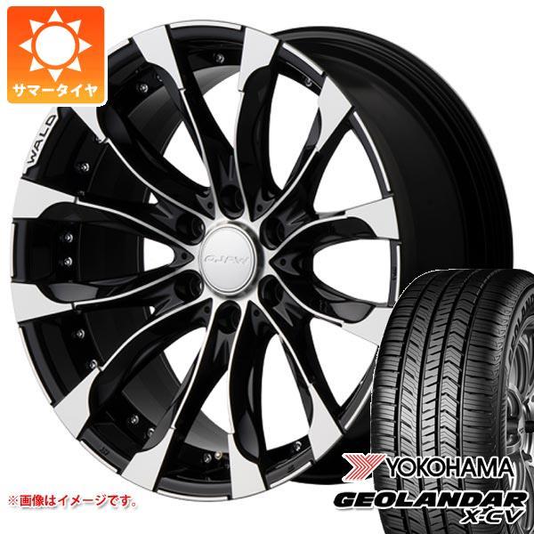 サマータイヤ 265/40R22 106W XL ヨコハマ ジオランダー X-CV G057 ヴァルド ジャレット J11-C 150プラド用 9.5-22 タイヤホイール4本セット