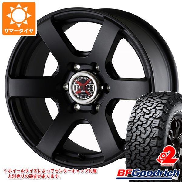 サマータイヤ 215/65R16 103/100S BFグッドリッチ オールテレーン T/A KO2 ブラックレター ドゥオール フェニーチェ クロス XC6 MBK 7.0-16 タイヤホイール4本セット