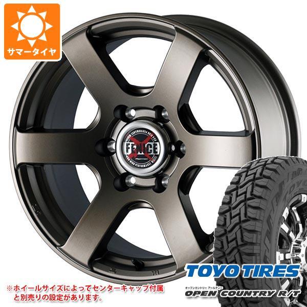サマータイヤ 215/70R16 100Q トーヨー オープンカントリー R/T ブラックレター ドゥオール フェニーチェ クロス XC6 7.0-16 タイヤホイール4本セット