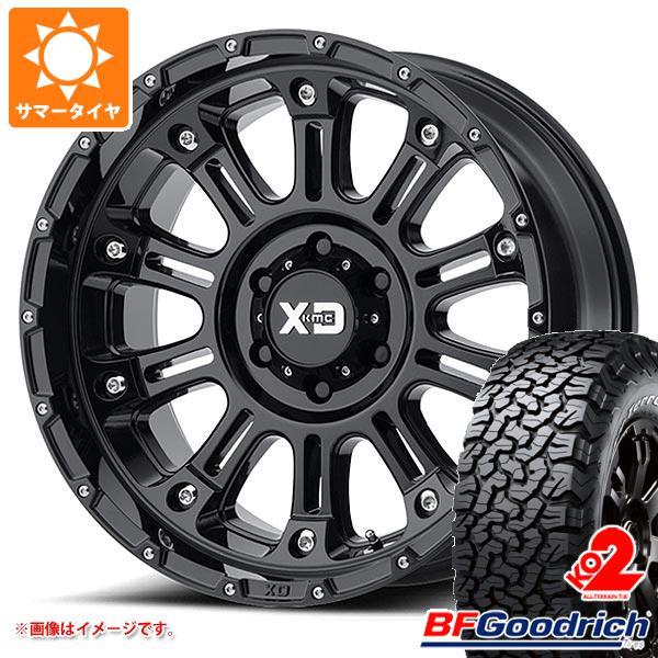 正規品 サマータイヤ 285/55R20 117/114T BFグッドリッチ オールテレーン T/A KO2 ブラックレター KMC XD829 ホス2 9.0-20 タイヤホイール4本セット