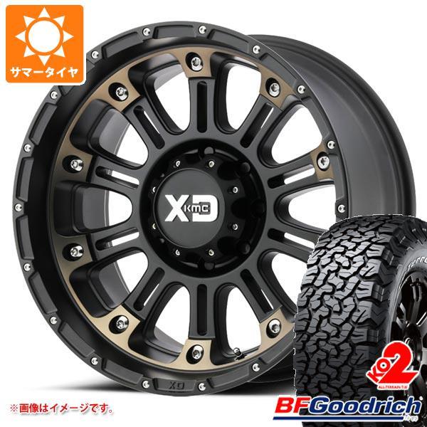 サマータイヤ 285/55R20 117/114T BFグッドリッチ オールテレーン T/A KO2 ブラックレター KMC XD829 ホス2 9.0-20 タイヤホイール4本セット