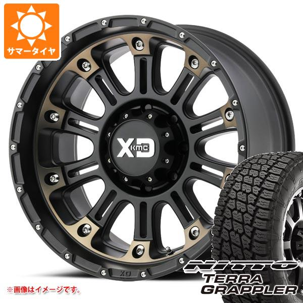 【オープニング 大放出セール】 サマータイヤ 275/55R20 117S XD829 275/55R20 XL ニットー テラグラップラー XL KMC XD829 ホス2 9.0-20 タイヤホイール4本セット, CHARMING(チャーミング):f5f3681d --- adaclinik.com