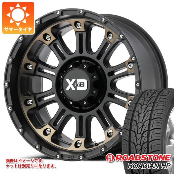 【ふるさと割】 サマータイヤ 275/55R20 117V XL ローディアン ロードストーン サマータイヤ ローディアン XL HP KMC XD829 ホス2 9.0-20 タイヤホイール4本セット, PRIZM7:70acfa97 --- turystikon.pl