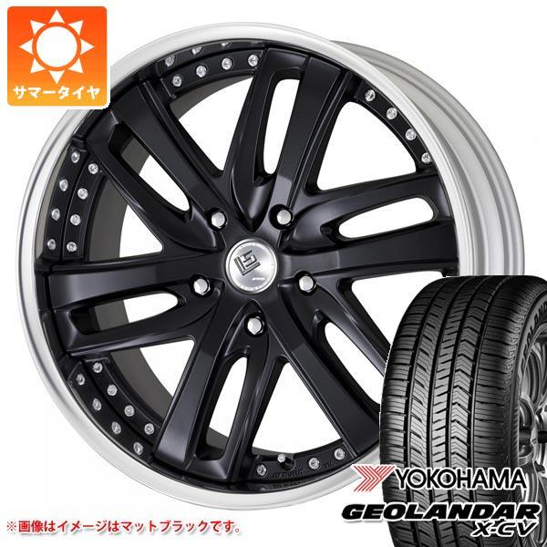 サマータイヤ 265/40R22 106W XL ヨコハマ ジオランダー X-CV G057 LS ブライトリング SUV 8.5-22 タイヤホイール4本セット