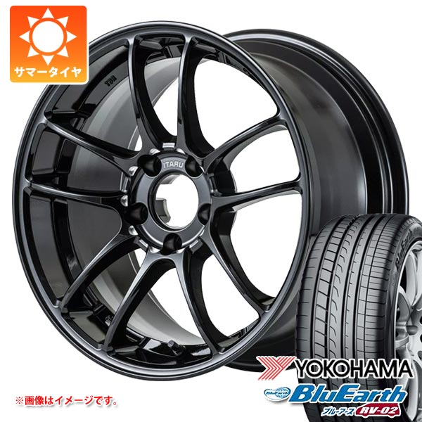サマータイヤ 235/65R17 108V XL ヨコハマ ブルーアース RV-02 レイズ トゥーブラザーズレーシング イタル-010 9.0-17 タイヤホイール4本セット