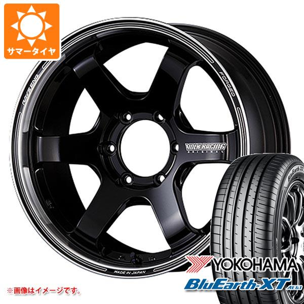 サマータイヤ 225/50R18 95V ヨコハマ ブルーアースXT AE61 レイズ ボルクレーシング TE37SB ツアラー 8.0-18 タイヤホイール4本セット