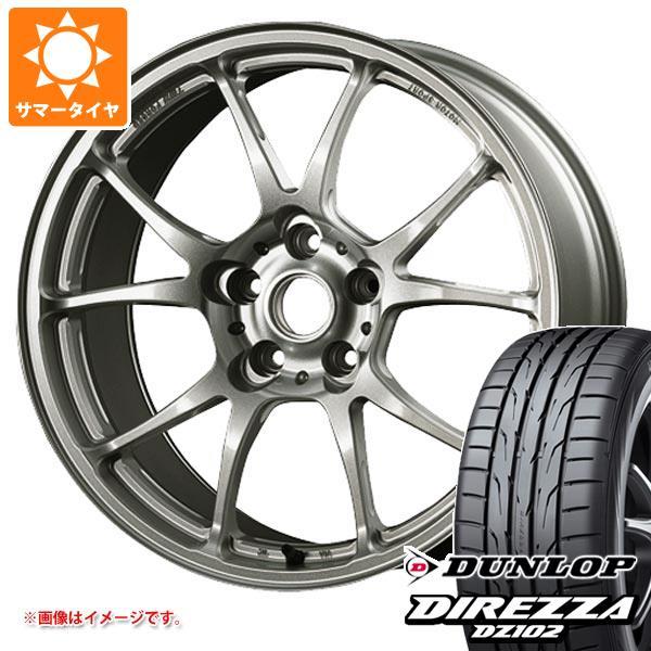 サマータイヤ 265/35R18 97W XL ダンロップ ディレッツァ DZ102 TWS モータースポーツ T66-F 9.5-18 タイヤホイール4本セット