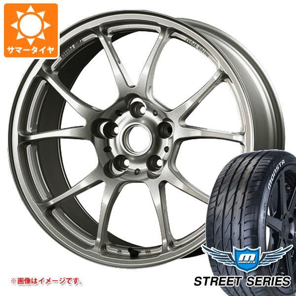 サマータイヤ 245/40R18 97V XL モンスタ ストリートシリーズ ホワイトレター TWS モータースポーツ T66-F 8.5-18 タイヤホイール4本セット