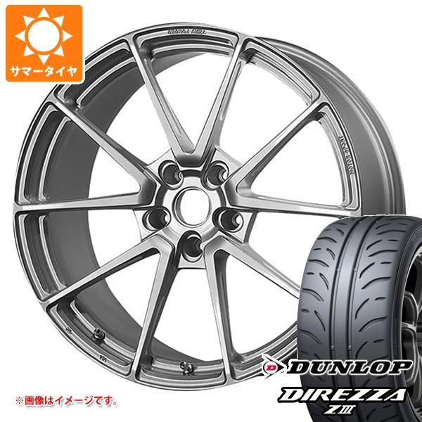 サマータイヤ 225/40R18 88W ダンロップ ディレッツァ Z3 TWS モータースポーツ T66-GT 8.0-18 タイヤホイール4本セット