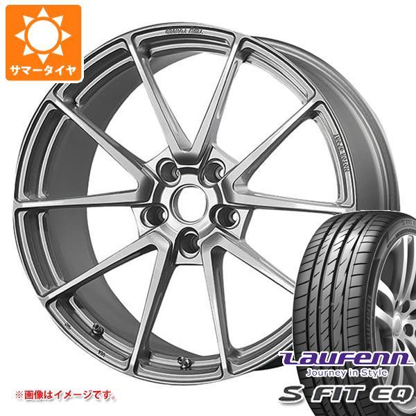 サマータイヤ 235/40R18 95Y XL ラウフェン Sフィット EQ LK01 TWS モータースポーツ T66-GT 8.5-18 タイヤホイール4本セット