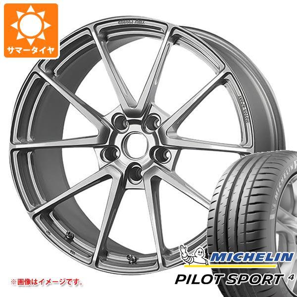 正規品 サマータイヤ 225/40R18 (92Y) XL ミシュラン パイロットスポーツ4 TWS モータースポーツ T66-GT 8.0-18 タイヤホイール4本セット