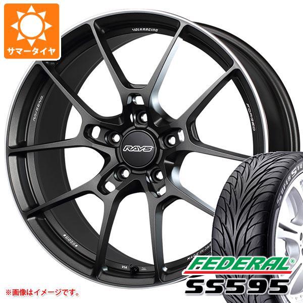 海外最新 サマータイヤ 235/50R18 SS595 101W 101W XL フェデラル SS595 8.0-18 レイズ ボルクレーシング G025 8.0-18 タイヤホイール4本セット, シモニタマチ:16ac8be4 --- statwagering.com