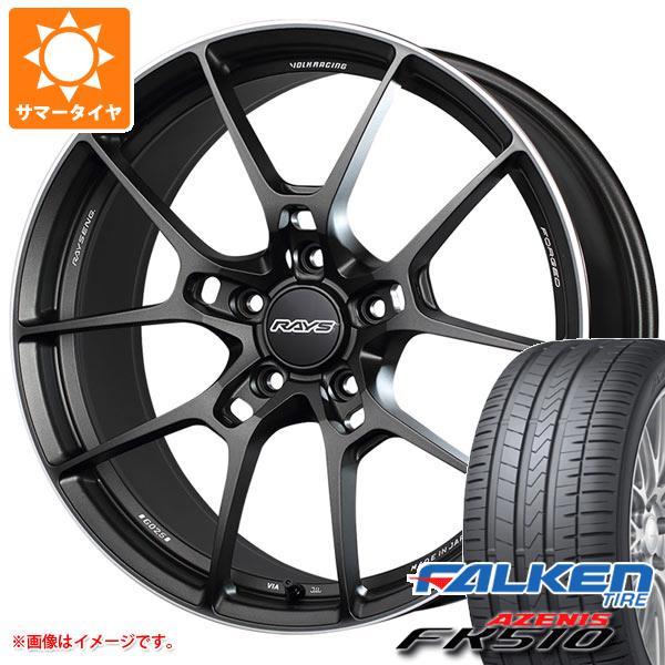 サマータイヤ 245/35R19 (93Y) XL ファルケン アゼニス FK510 レイズ ボルクレーシング G025 8.5-19 タイヤホイール4本セット
