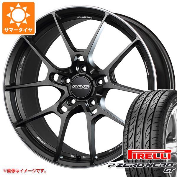 正規品 サマータイヤ 235/35R19 (91Y) XL ピレリ P ゼロ ネロ GT レイズ ボルクレーシング G025 8.0-19 タイヤホイール4本セット