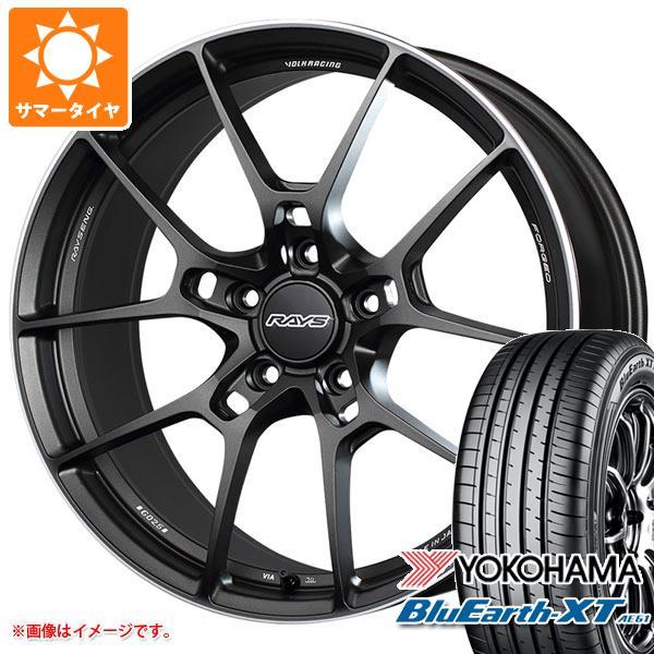 サマータイヤ 225/55R19 99V ヨコハマ ブルーアースXT AE61 2020年4月発売サイズ レイズ ボルクレーシング G025 8.0-19 タイヤホイール4本セット