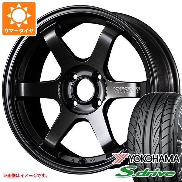 サマータイヤ 165/45R16 74V REINF ヨコハマ DNA S.ドライブ ES03N レイズ ボルクレーシング TE37 ソニック 5.5-16 タイヤホイール4本セット