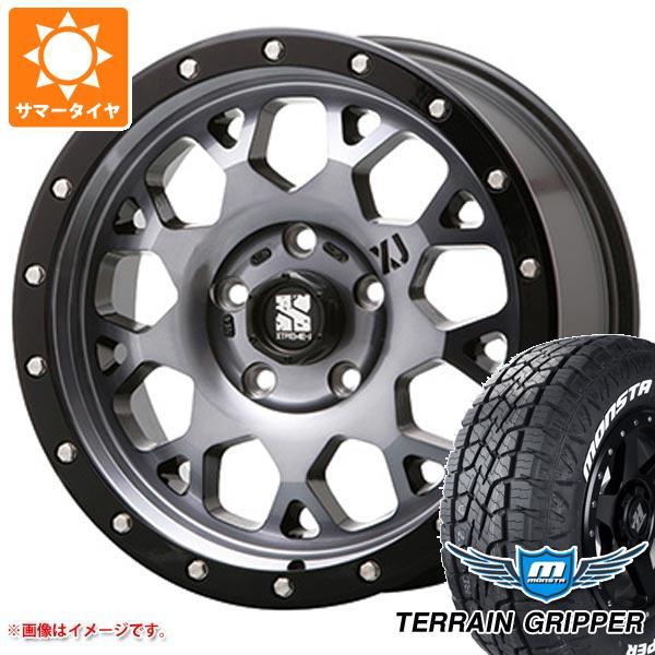 サマータイヤ 265/65R17 116T XL モンスタ テレーングリッパー ホワイトレター エクストリームJ XJ04 GS 8.0-17 タイヤホイール4本セット
