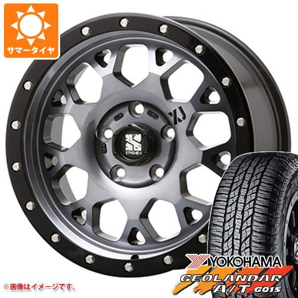 サマータイヤ 265/65R17 112H ヨコハマ ジオランダー A/T G015 ブラックレター エクストリームJ XJ04 GS 8.0-17 タイヤホイール4本セット