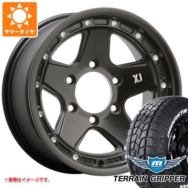 サマータイヤ 265/75R16 123/120Q モンスタ テレーングリッパー ホワイトレター エクストリームJ XJ05 8.0-16 タイヤホイール4本セット