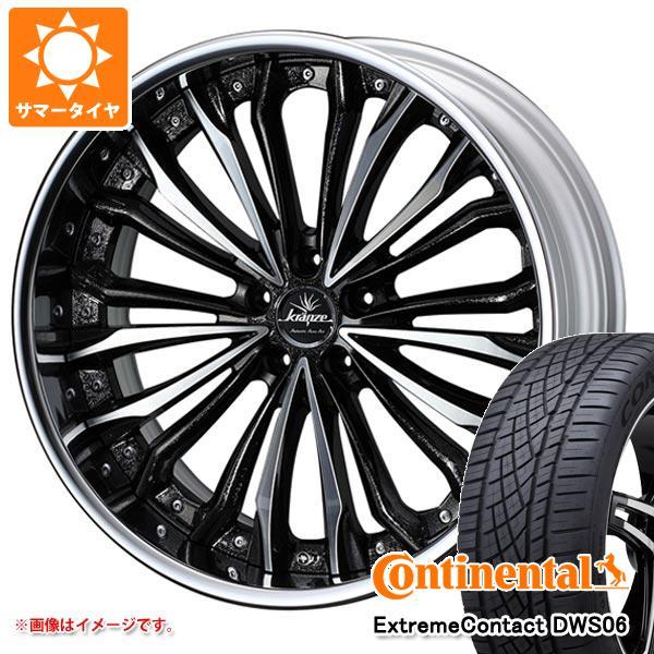 正規品 サマータイヤ 245/45R20 103Y XL コンチネンタル エクストリームコンタクト DWS06 クレンツェ フェルゼン 8.5-20 タイヤホイール4本セット